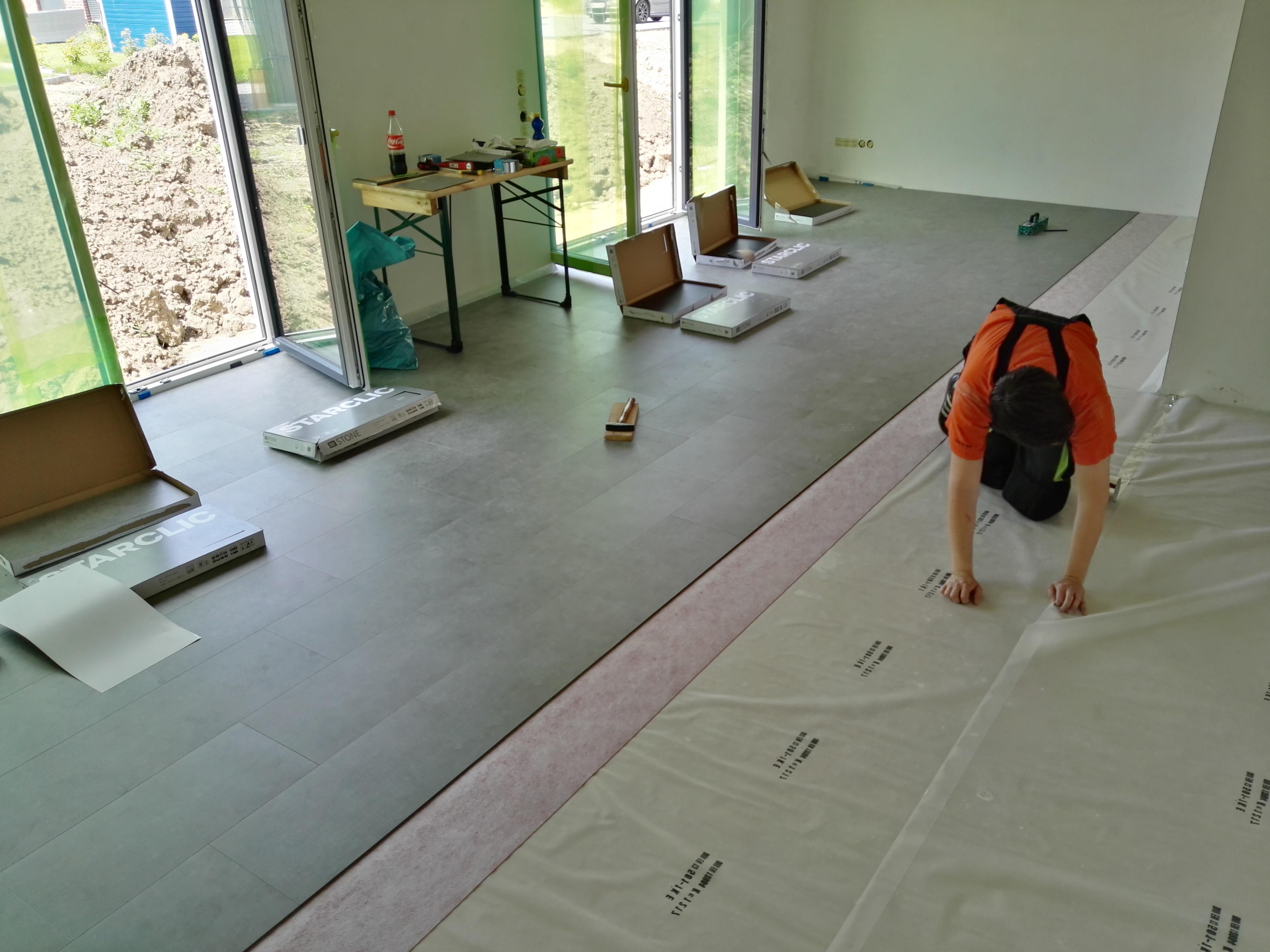 bodenbel ge nurda efh in algermissen. Black Bedroom Furniture Sets. Home Design Ideas